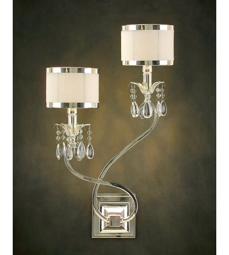 Two-Light Right Hand Sconce Shade