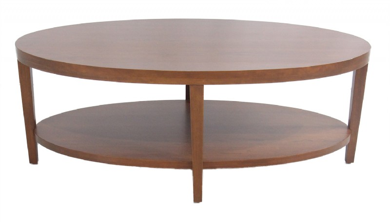 Oval Wooden Tail Table