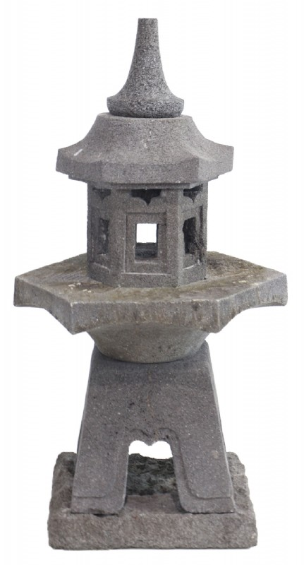 Pagoda Sculpture Large Cast Stone