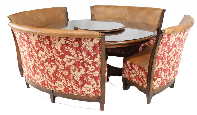 Magnificent Dining Table W Upholstered And Leather Bench Seats For Sale Unemploymentrelief Wooden Chair Designs For Living Room Unemploymentrelieforg