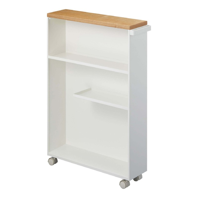 Tower Rolling Slim Bathroom Cart With Handle