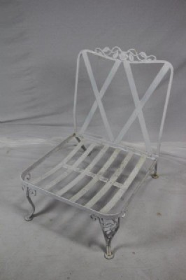 Antique Wrought Iron Chair