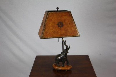Maitland-Smith Elephant Table Lamp