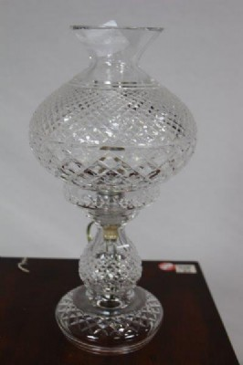 Waterford Hurricane Lamp