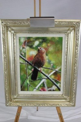 Brown Bird Painting
