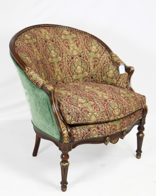 The India Silk Bedroom Chair