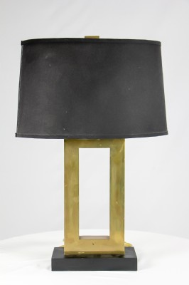 Black Oval Lamp