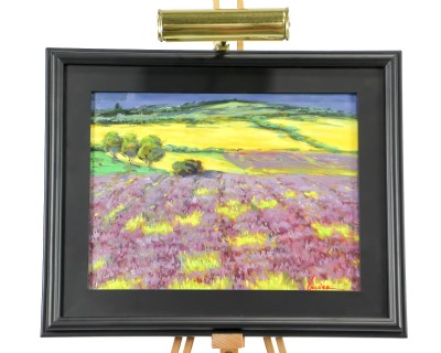 Purple Flowered Field MC-556