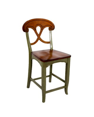 Green and Brown Stool