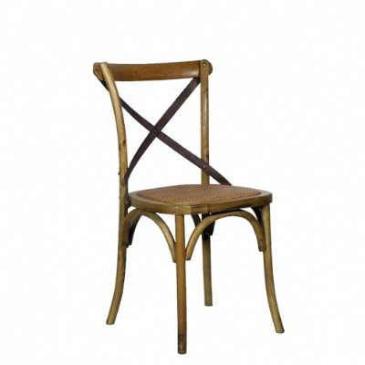 Chair with Cross Back
