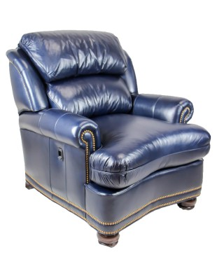 leather tilt back chair