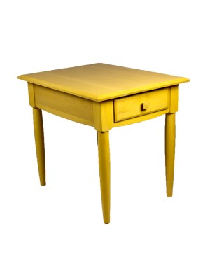 Ethan Allen Blonde Side Table