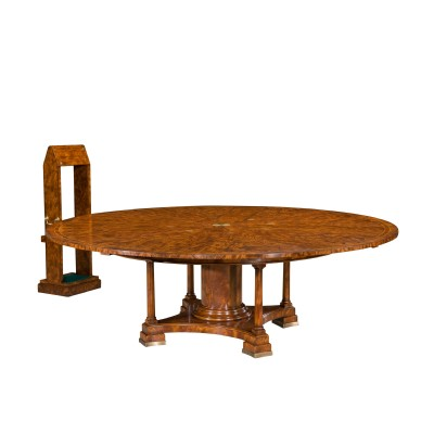 The Jupe Patent Dining Table