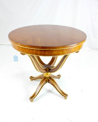 Zebrano Center Table
