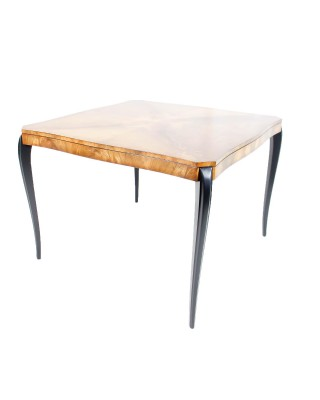 Walnot Top Game Table