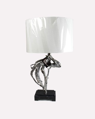 Run In The Wind Accent Table Lamp