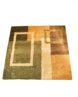 Earthy Square Rug