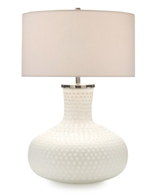 Frosted Honeycomb Table Lamp