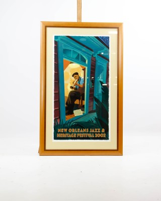 Paul Rogers New Orleans Jazz Festival Poster