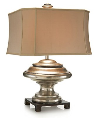 Silver Orbis Table Lamp