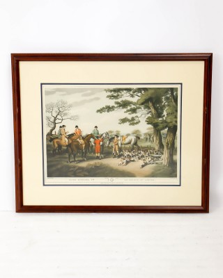 Hare Hunting Print