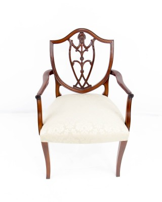 Mahogany Chippendale Arm Chair