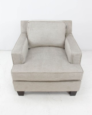 Brighton chair soft taupe fabric