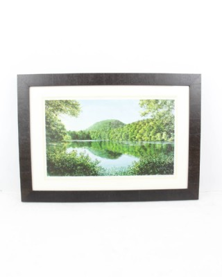 Framed Matted Print of Sleeping Giant