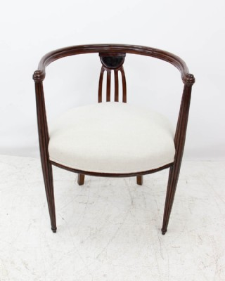 Art Deco Vanity Chair