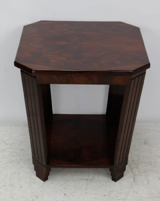 Art Deco Walnut Side Table
