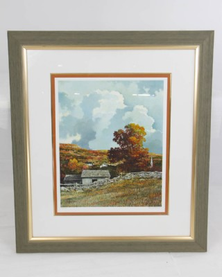 Brown Autumn Eric Sloane Signed Print