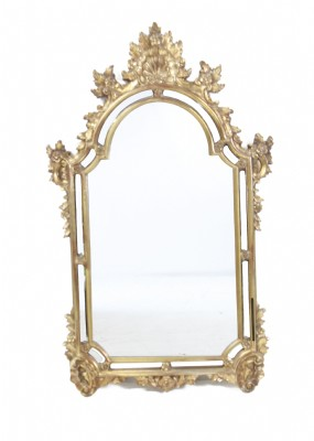 Victorian Style Guilded Mirror