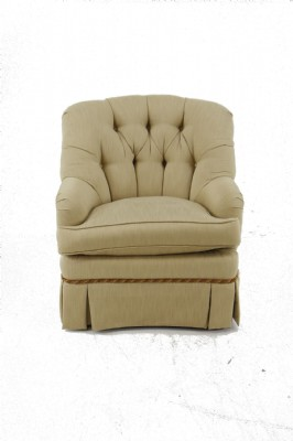 Tufted Slipcover Armchair