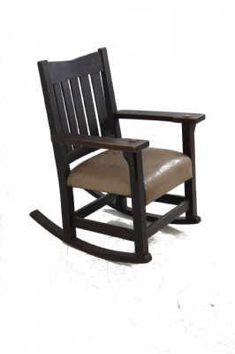 Genuine Gus Stickley Rocking Chair