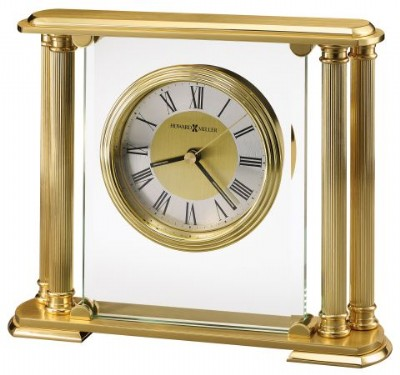 Solid Brass Table Clock
