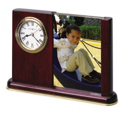 Potrait Holder Desk Table Clock