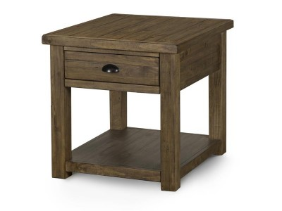 Nutmeg Rectangular End Table