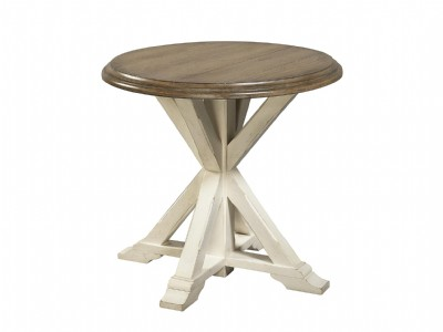 Two Tone End Table
