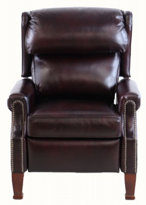 Ruby Leather Recliner