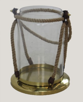 Glass and Rope Lantern
