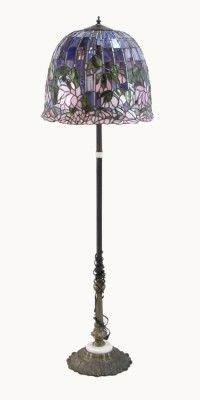 """Stained Glass"" Floor Lamp"