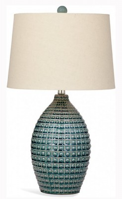 Aqua Finish Table Lamp