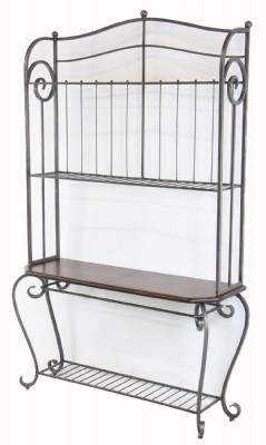 Wrought Iron Baker's Rack