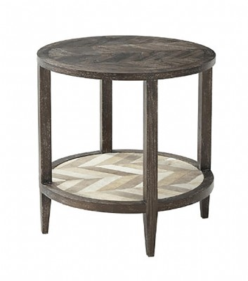 MARCO ACCENT ROUND SIDE TABLE