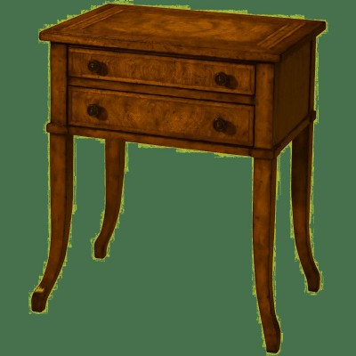 VENEERED MAHOGANY SIDE TABLE