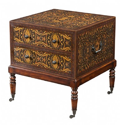 Pattern Underfoot Side Table