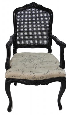 French Writing Arm Chair