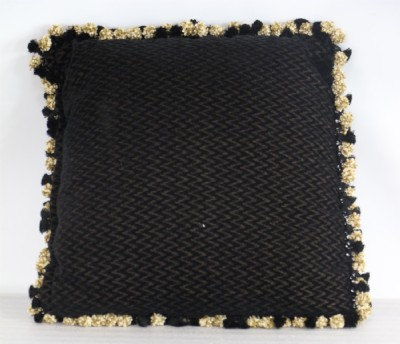 Black & Gold Throw Pillow