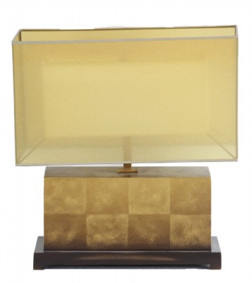 Rectangular Lamp and Shade