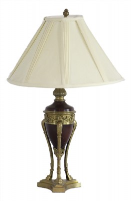 Urn Shaped Lamp with Metal Base- AS IS